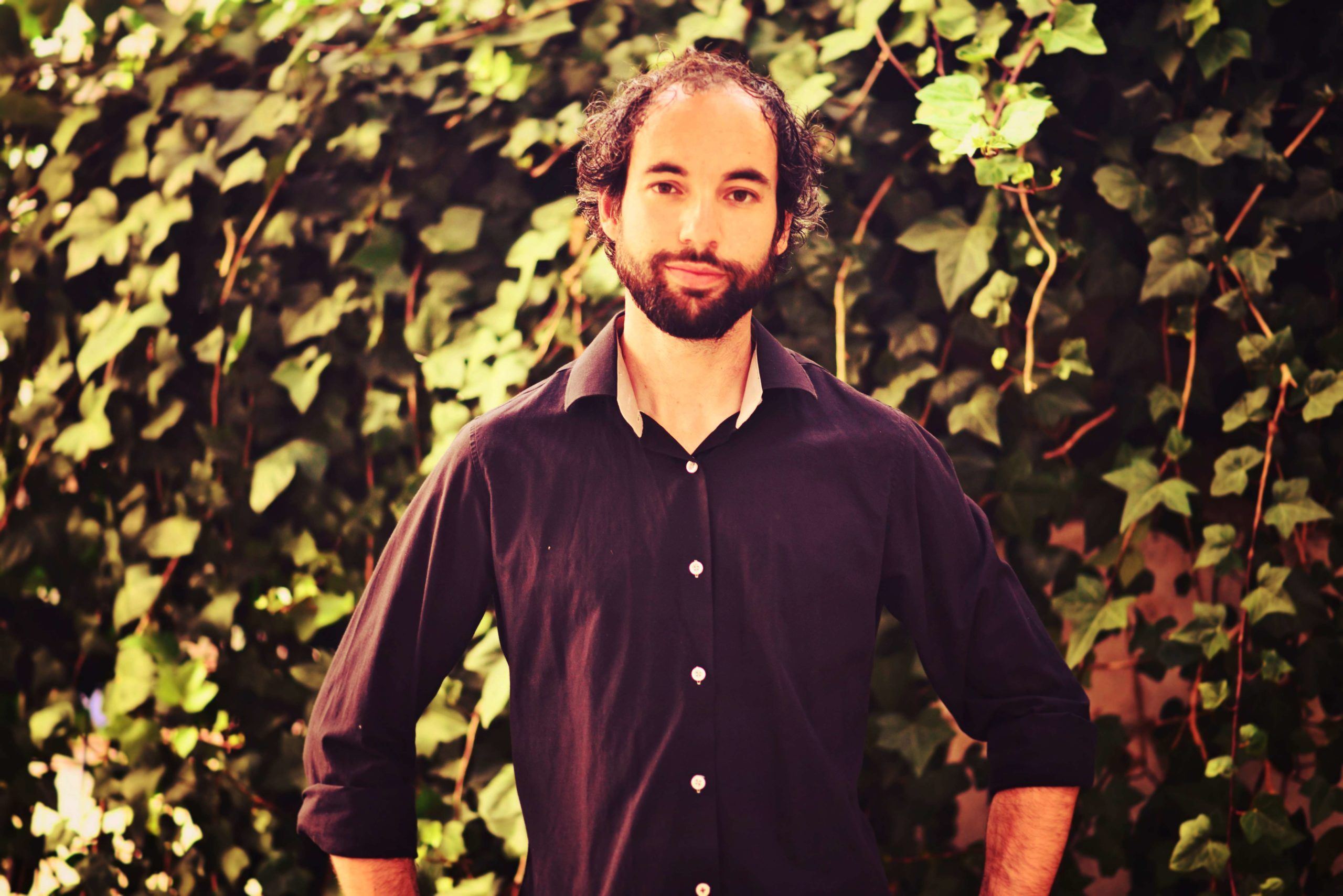 Dani Guitarra fondo verde